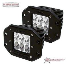 51231 - RIGID INDUSTRIES D-SERIES D2 SPECTER DRIVING LED LIGHT PAIR BLACK