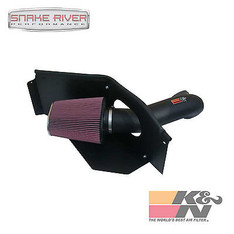 57-1541 - K&N PERFORMANCE COLD AIR INTAKE SYSTEM FOR 04-06 DODGE RAM SRT-10 8.3L