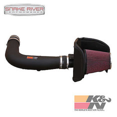 57-2557 - K&N PERFORMANCE COLD AIR INTAKE SYSTEM FOR 04-05 FORD F150 4.6L