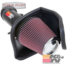 69-2550TTK - K&N PERFORMANCE COLD AIR INTAKE SYSTEM FOR 15-16 DODGE CHARGER CHALLENGER 6.2L
