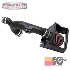 57-2583 - K&N PERFORMANCE COLD AIR INTAKE SYSTEM FOR 11-14 FORD F150 TURBO ECOBOOST 3.5L