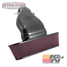63-3080 - K&N CARBON FIBER COLD AIR INTAKE SYSTEM FOR 09-13 CHEVY CORVETTE ZR1 6.2L