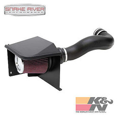 57-3058 - K&N COLD AIR INTAKE FOR 14-16 CHEVY SILVERADO GMC SIERRA 1500 4.8L 5.3L 6.0L