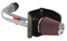 77-2557KP - K&N PERFORMANCE COLD AIR INTAKE SYSTEM 04-05 FORD F150 4.6L POLISHED 77-2557KP