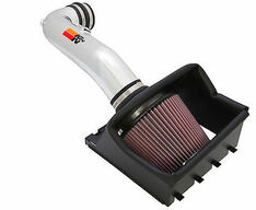 77-2580KP - K&N COLD AIR INTAKE SYSTEM 09-10 FORD F150 4.6L POLISHED 3 VALVE 77-2584KP