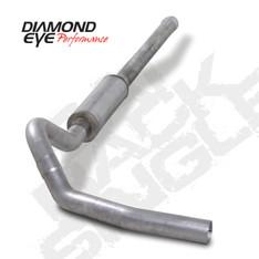 "K4122A - DIAMOND EYE 4"" EXHAUST 2006-2007 CHEVY GMC DURAMAX DIESEL 6.6L CAT BACK"