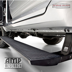 76235-01A - AMP RESEARCH POWERSTEP RETRACTABLE SIDE STEP 2017 FORD F250 F350 PLUG N PLAY