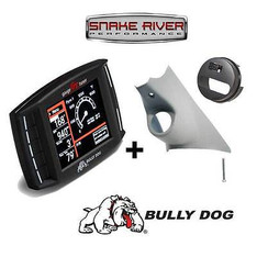 BULLY DOG TRIPLE DOG GT DIESEL W A-PILLAR MOUNT FOR 10-12 DODGE RAM CUMMINS 6.7L - 40420 32304