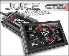 EDGE CTS 2 JUICE W ATTITUDE RACE TUNER FOR 98.5-00 DODGE RAM 5.9L CUMMINS DIESEL - 31700