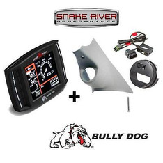 BULLY DOG TRIPLE DOG GT DIESEL WITH PILLAR MOUNT 13-17 DODGE 6.7L AND PCM UNLOCK  NO LEATHER DASH- 40420 32307 42214