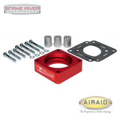 310-510 - AIRAID POWERAID RED THROTTLE BODY SPACER FOR 91-06 JEEP WRANGLER 4.0L