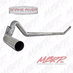 "MBRP 4"" EXHAUST FOR 94-97 DODGE RAM CUMMINS DIESEL 5.9L NO MUFFLER STRAIGHT PIPE"