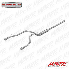 MBRP DUAL EXHAUST 2019 DODGE RAM 1500 HEMI 5.7L REAR EXIT T304 STAINLESS STEEL