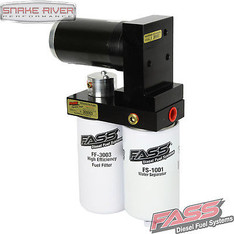 FASS FUEL PUMP TITANIUM SIGNATURE SERIES 98.5-04 DODGE CUMMINS DIESEL 250 GPH - TS D08 250G