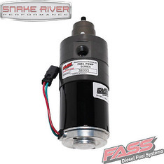FASS ADJUSTABLE FUEL PUMP FOR 05-09 DODGE RAM CUMMINS DIESEL 5.9L 6.7L 165 GPH - FA D07 165G