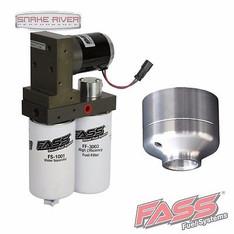 FASS FUEL PUMP SYSTEM 01-10 CHEVY DURAMAX DIESEL 165 GPH W STOCK DELETE TITANIUM - TC10165G DFD-4000