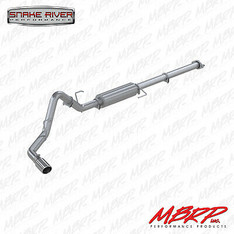 """MBRP 3"""" EXHAUST 15-19 FORD F150 ECOBOOST 2.7L 3.5L CAT BACK ALUMINIZED S5253AL"""
