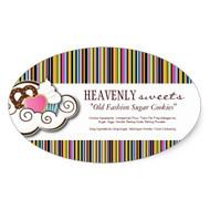 Sticker Ovalado 1.5 x 2.5 Full Color 70lbs UV Coated