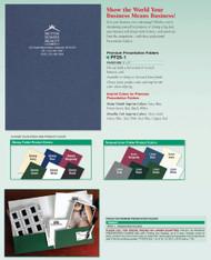 Premium Presentation Folder  9 x 12