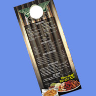 1000 Door Hangers 4.25 x 11 UV Coated RUSH DELIVERY
