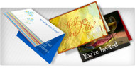 1000 Tarjeta de Invitacion Doblada 5 x 7 UV Coated