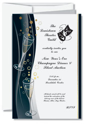 2500 Tarjeta de Invitacion Doblada 5 x 7 UV Coated