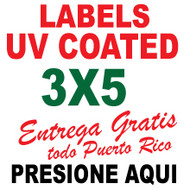 3x5 Labels Full Color
