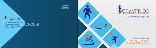 4.25 x 11 Brochure Doblados en Tres y Doblados al Medio