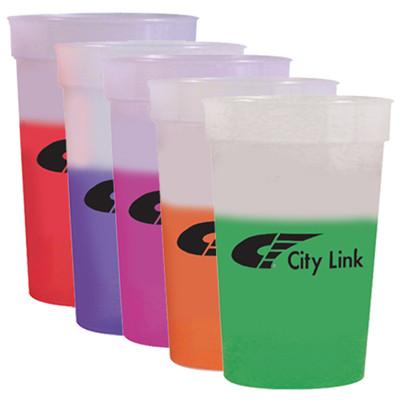Vasos Plástico reusables que cambian de color con el liquido frio