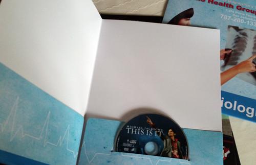 Folder con Bolsillo para CD