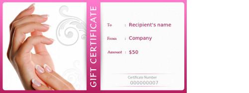 Certificado de Regalo 6 x 6 Full Color con Numerado Consecutivo