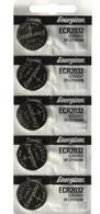 5 Energizer 2032 Lithium Watch Batteries