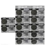 12 Energizer CR2032 ECR2032 2032 3V Coin Button Lithium Batteries