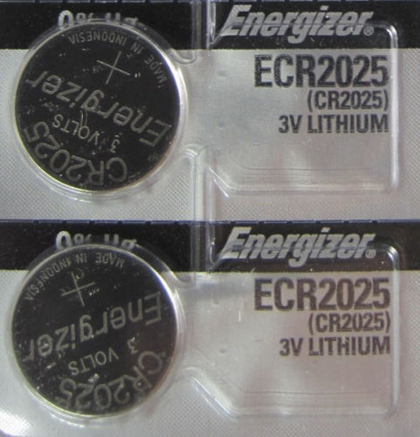 Energizer Cr2025 Ltihuim Battery Pack Of 2