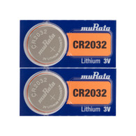 2 PC New Original SONY CR2032 CR 2032 3v Lithium Battery - Fresh Stock *Replaced By Murata