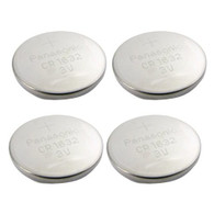 4pcs Panasonic CR1632 CR 1632 3v Coin Lithium Battery, REMOTE KEYLESS ENTRY TRANSMITTER FOB Battery