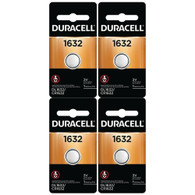 2 X 2 Pcs Duracell CR1632 1632 Car Remote Batteries