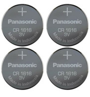 4x Panasonic Battery - CR1616 3V 3 Volt Lithium Coin Size Battery