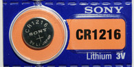 Sony Cr1216 Lithium Watch Battery