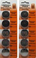 NEW 10 PCS Cr2450 Cr 2450 3v Button CEL Lithium Battery