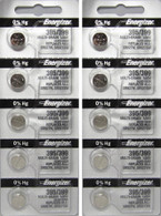 10 395 / 399 Energizer Watch Batteries SR927SW SR927W