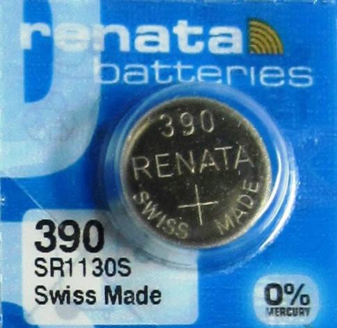 390 Renata Watch Battery