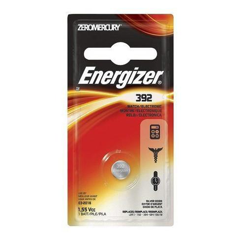 Energizer 392bpz Zero Mercury Battery 1 Pack