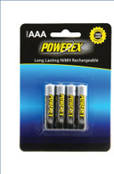 wholesale pack - 100 Powerex AAA Rechargeable batteries 1000mAh NiMH