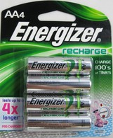 Energizer Rechargeable batteries AA Nimh (8 Pack)