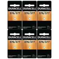 Duracell 377 1.5v Watch/electronic Battery 6 Count