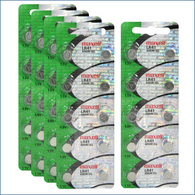 """50 Pack Maxell LR41 AG3 192 button cell battery """"NEW HOLOGRAM PACKAGE """""""