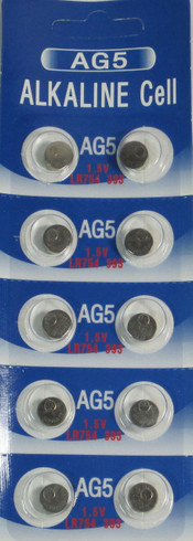 10 Ag5 393 Lr754 Sr754 Alkaline Battery Button Cell