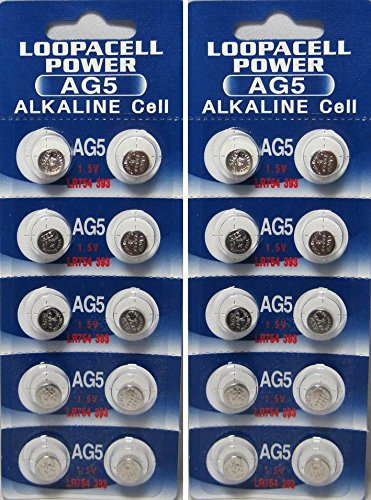 20 Ag5 393 Lr754 Sr754 Alkaline Battery Button Cell By