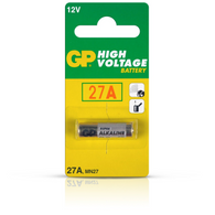 GP 27A Alkaline Battery 12V (Pack of 2)